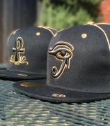 BLK/GLD EYE OF HORUS - £35 FEROwear featuring Aunkh Brand(US/UK Brand Collab)