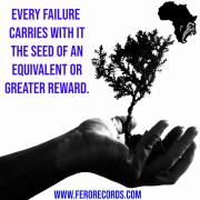 Every failure carries with it the seed of an equal or greater success.
