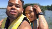Man riding jet ski busted for using Tinder by his girlfriend