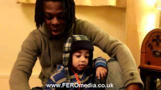 FEROmedia presents Khaliyl Iloyi rapping at 2years old with father Femi