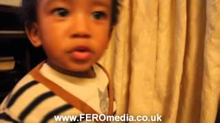 FEROmedia presents 1 year old Kaeydan rapping and dancing